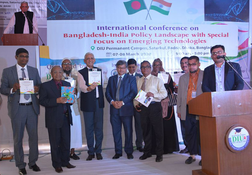 International Conference on Bangladesh-India Policy Landscape Held at DIU